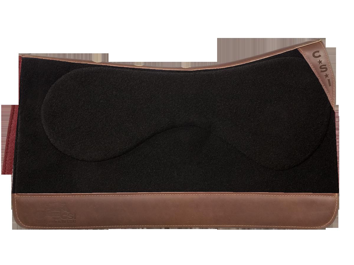 CSI Flex-Plate® Standard Western Cut Saddle Pad