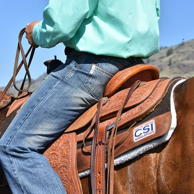 CSI Saddle pads are all about the horse - Click to Learn More!