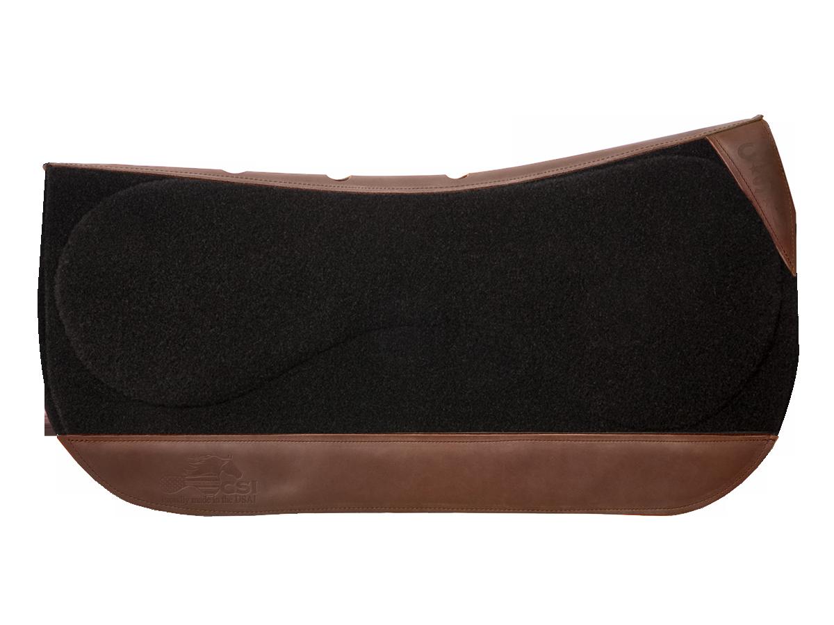 CSI Flex-Plate® Western Show Cut Saddle Pad