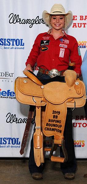 Ainslee Morris - Team CSI Saddle Pad 2019