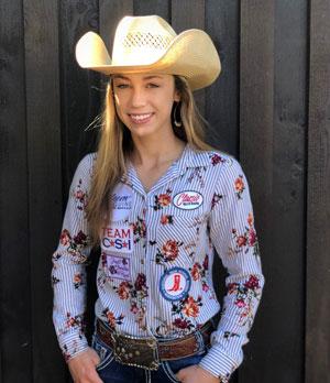 Emily Dodds - Team CSI Saddle Pad 2019