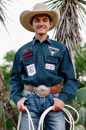Garrett Talamantes - Team CSI Saddle Pad 2019