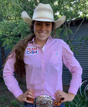 Jayda Jameson - Team CSI Saddle Pad 2019