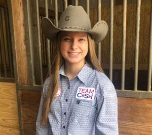 Mallory McGee - Team CSI Saddle Pad 2019