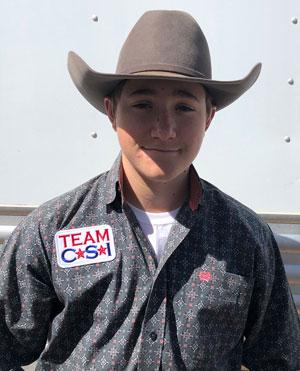 Mason Appleton - Team CSI Saddle Pad 2019