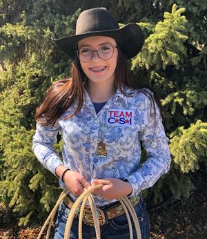 Payton Smith - Team CSI Saddle Pad 2019