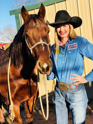 Shyanna Reeves - Team CSI Saddle Pad 2019