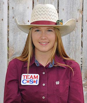 Vanessa Caverly - Team CSI Saddle Pad 2019